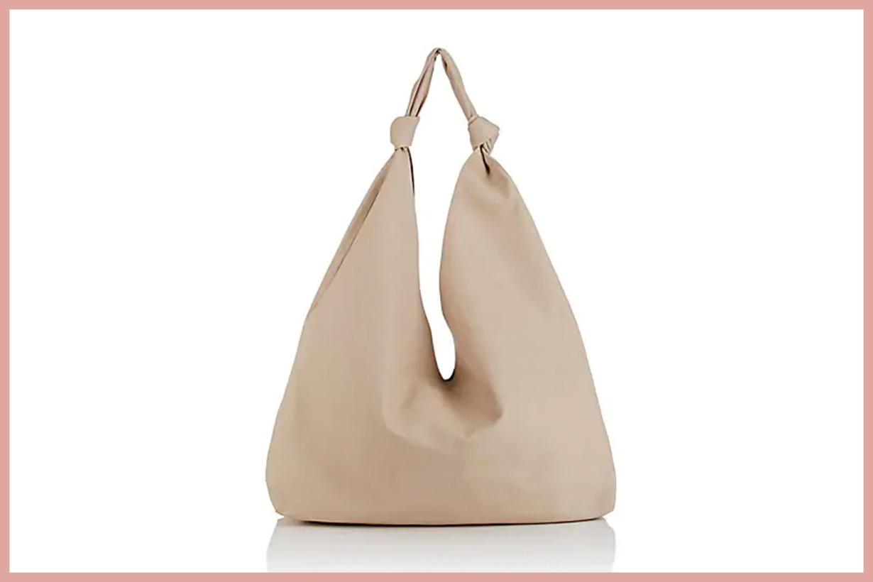 THE ROW Bindle Double-Knot Leather Shoulder Bag