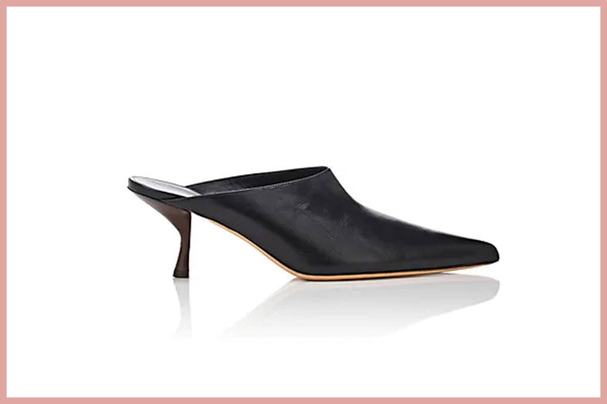 THE ROW Bourgeoise Leather Mules