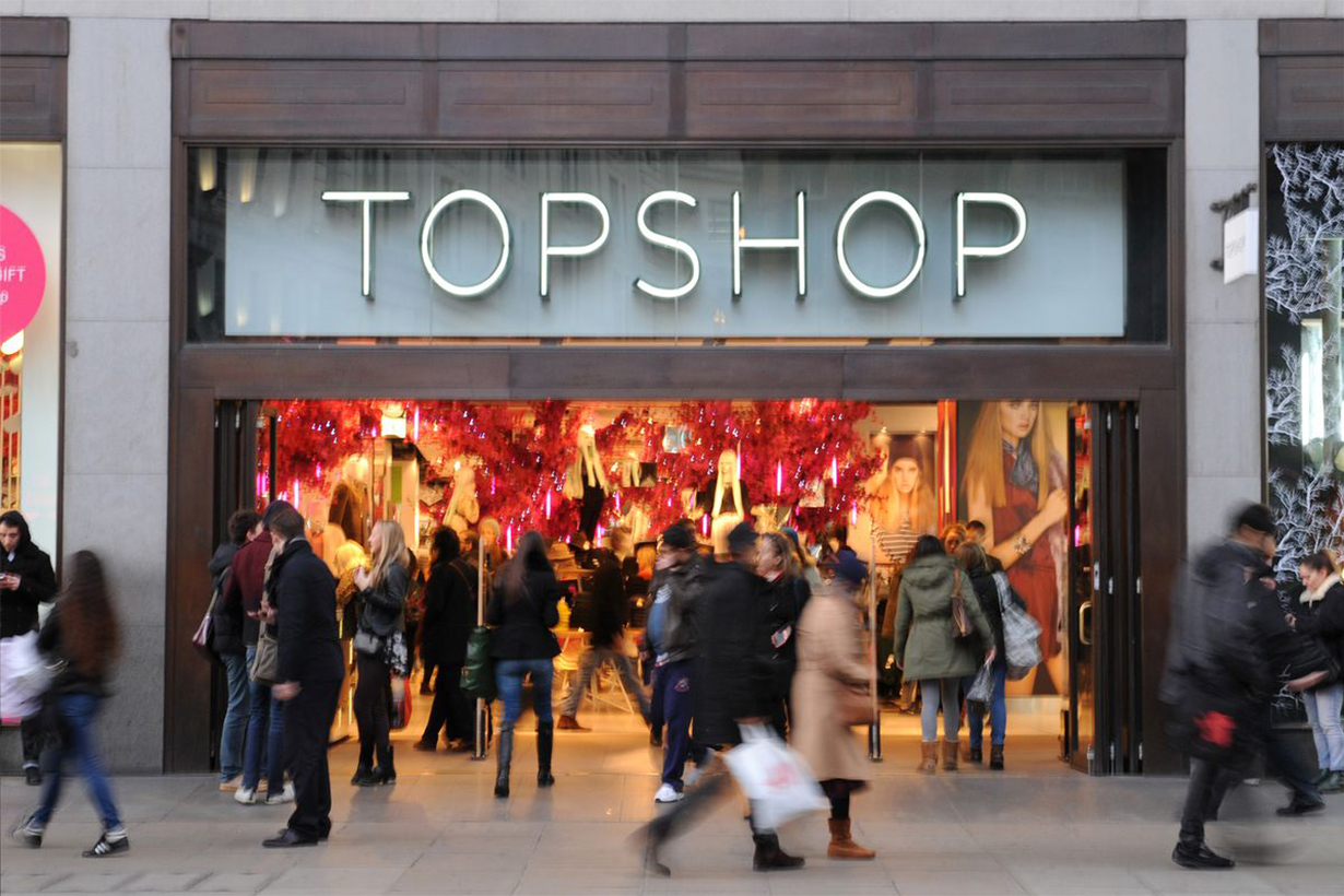 Topshop Owner Arcadia Close Stores