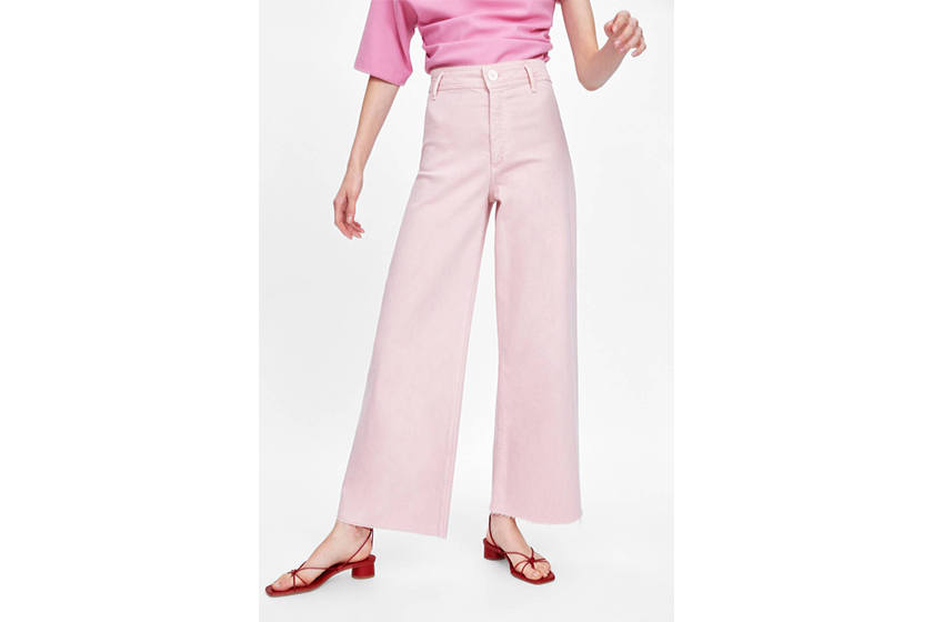 Zara Coloured Denim Jeans