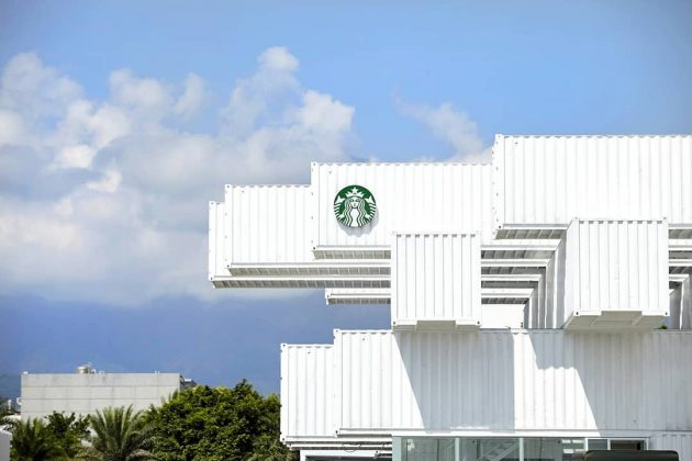 Starbucks Taiwan Special location Store