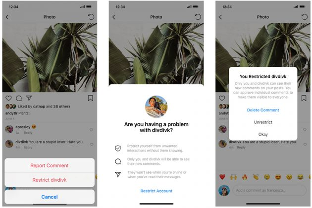 Instagram Fight Against Online Bullying New Step