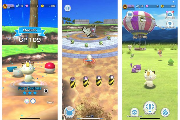 New Pokémon Rumble Rush iOS Android Game