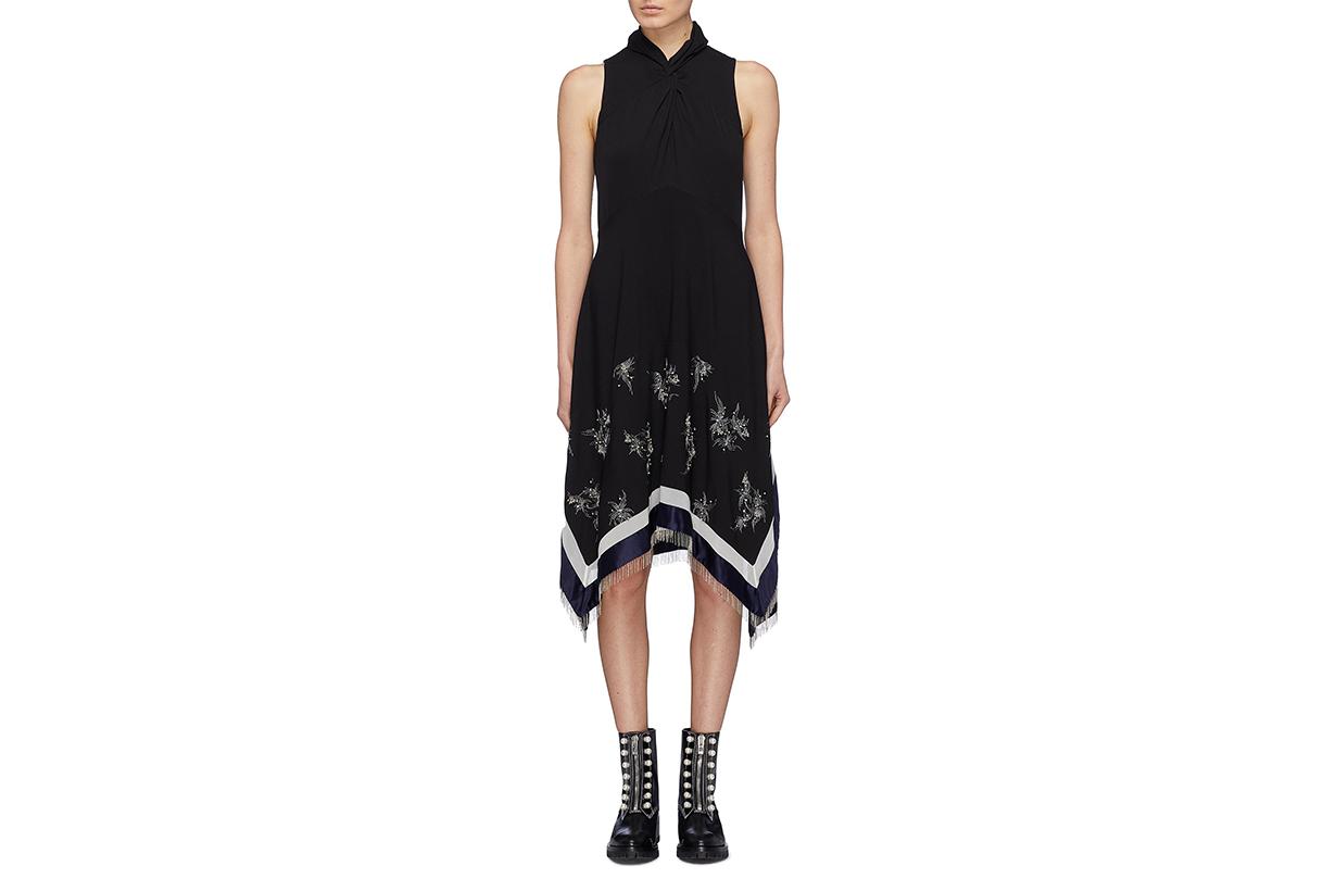 3.1 Phillip Lim Twist Neck Sleeveless Dress