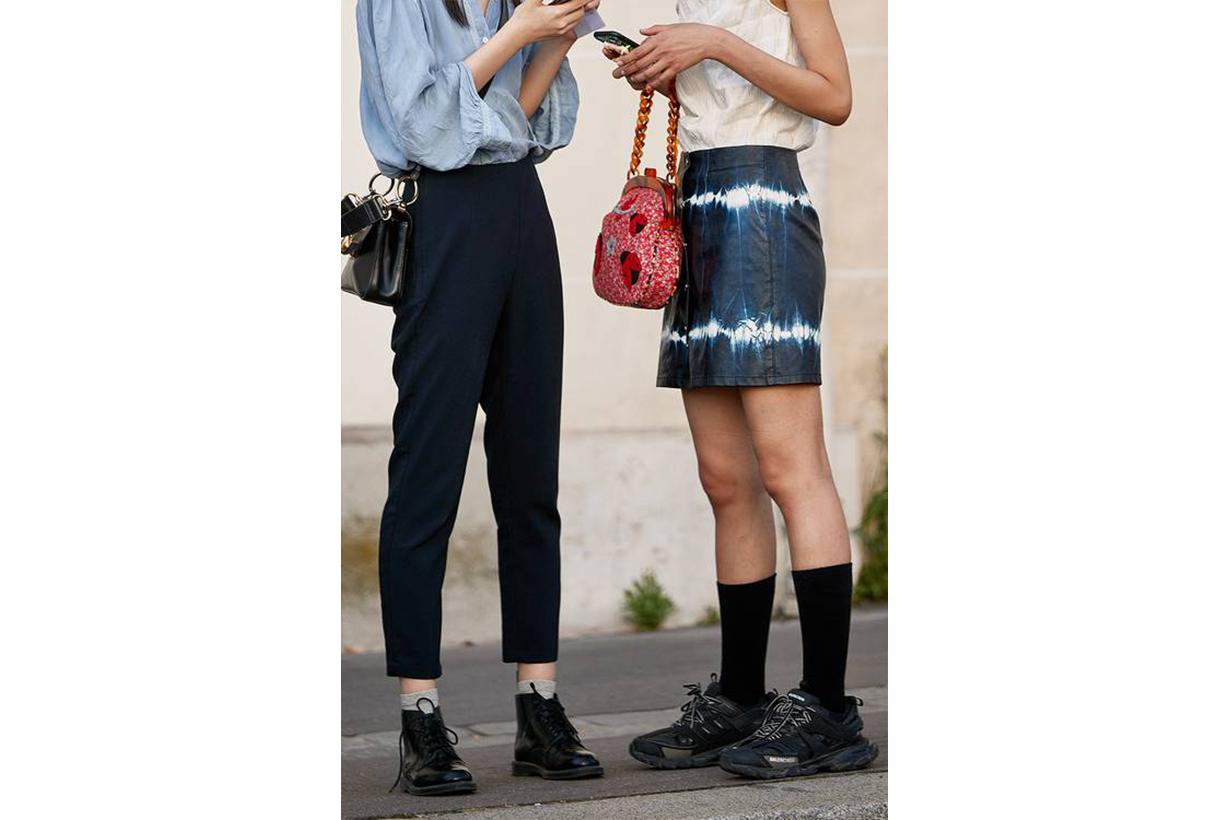 London Street Style Tie Dye Fashion