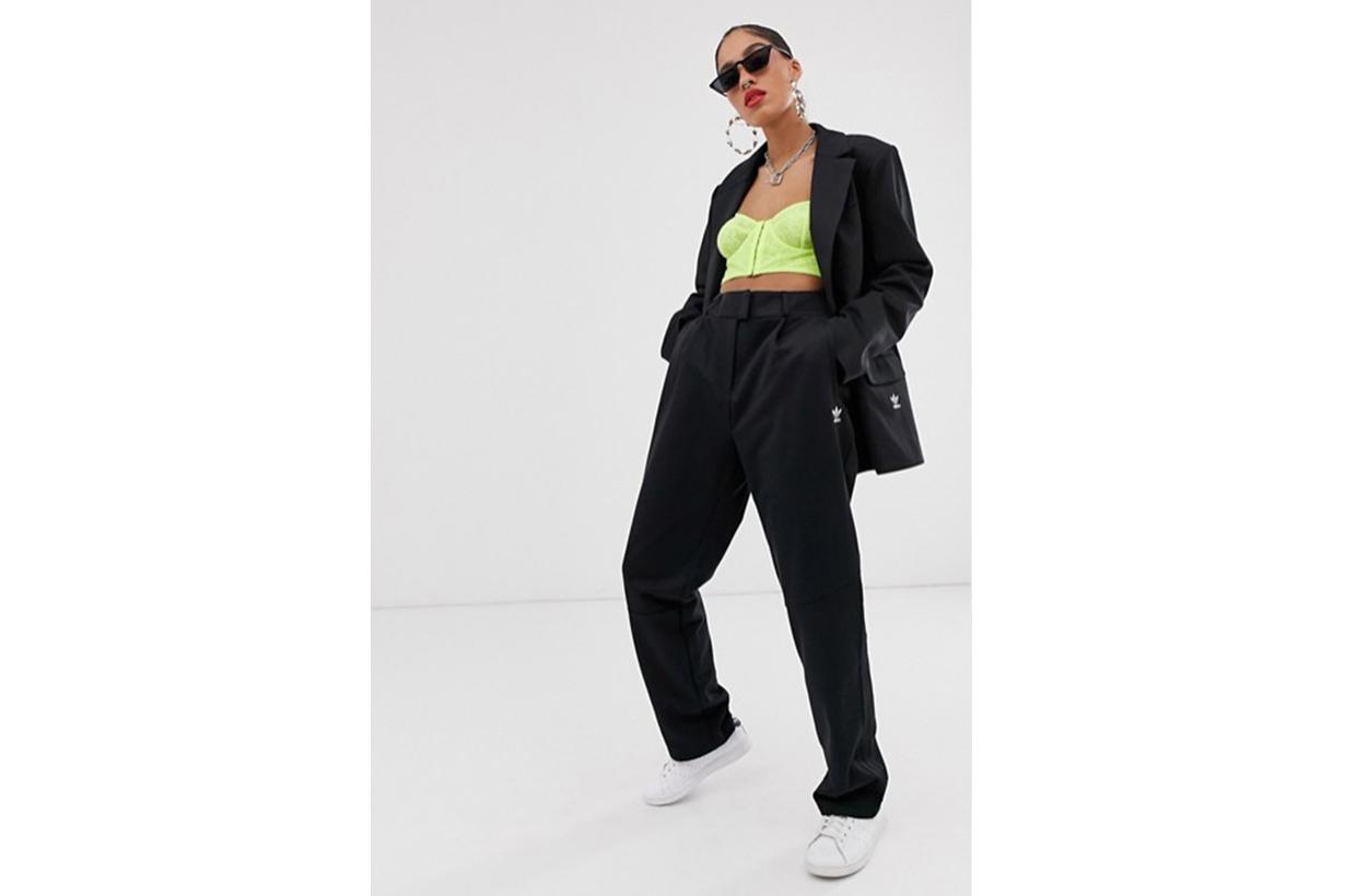 adidas Originals x Danielle Cathari Deconstructed Trousers in Black
