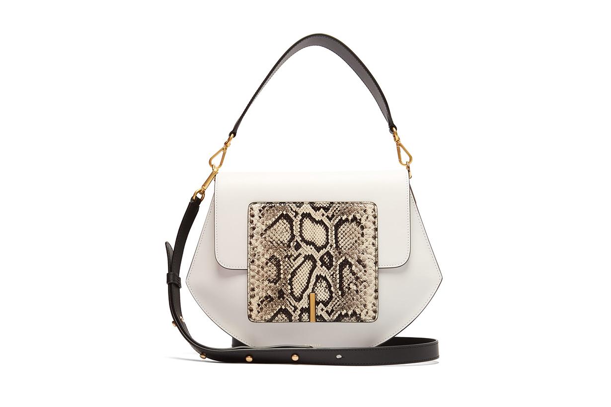 Al Leather Cross-Body Bag