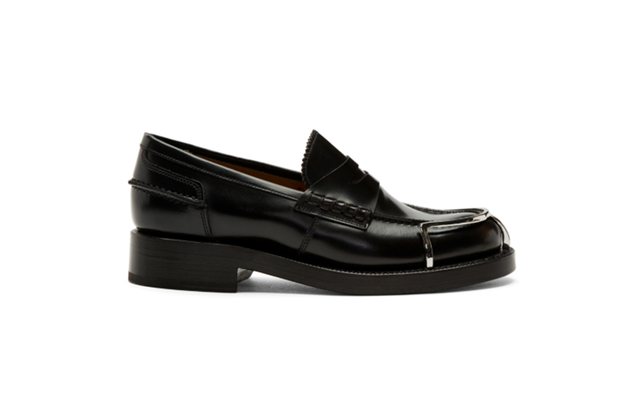 Alexander Wang Black Carter Loafers