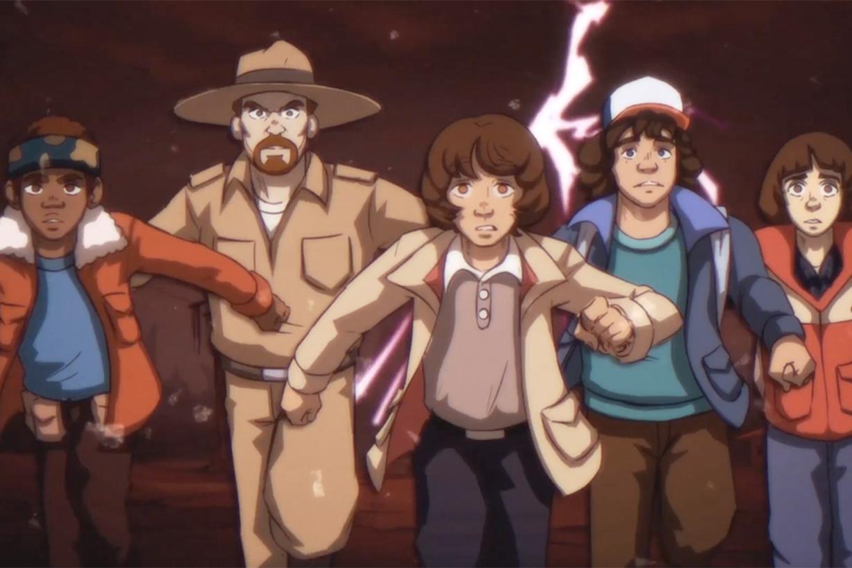 anime stranger things