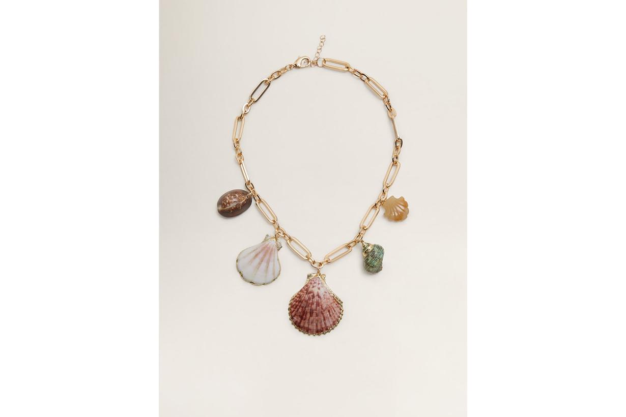 Mango Shell Necklace