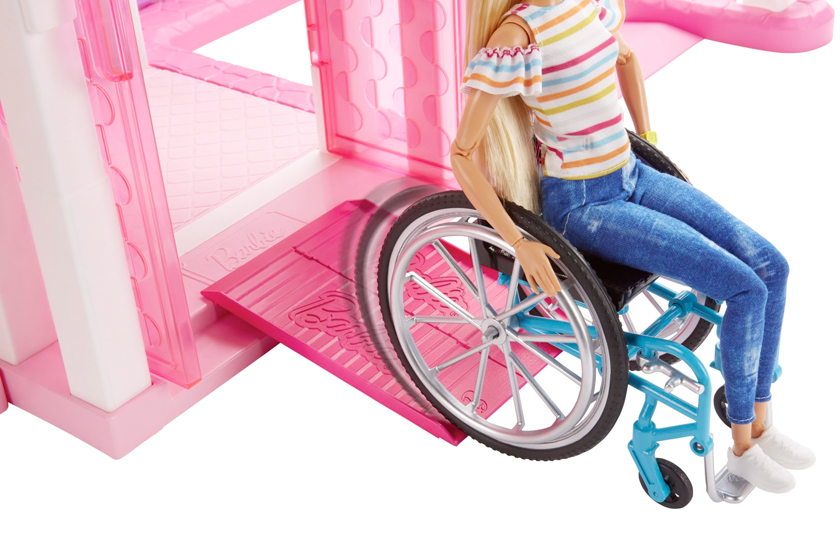 barbie wheelchair beauty definition doll toy stereotype