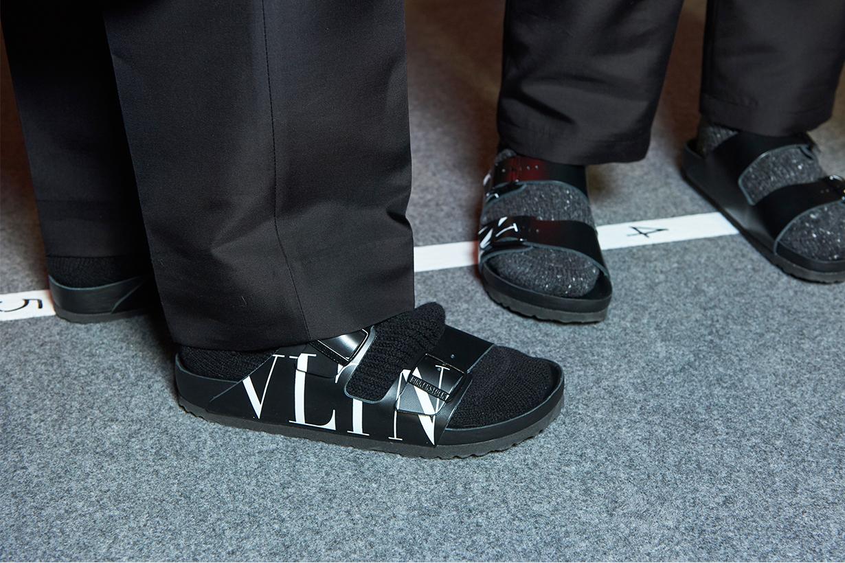 Birkenstock-Valentino-sandals