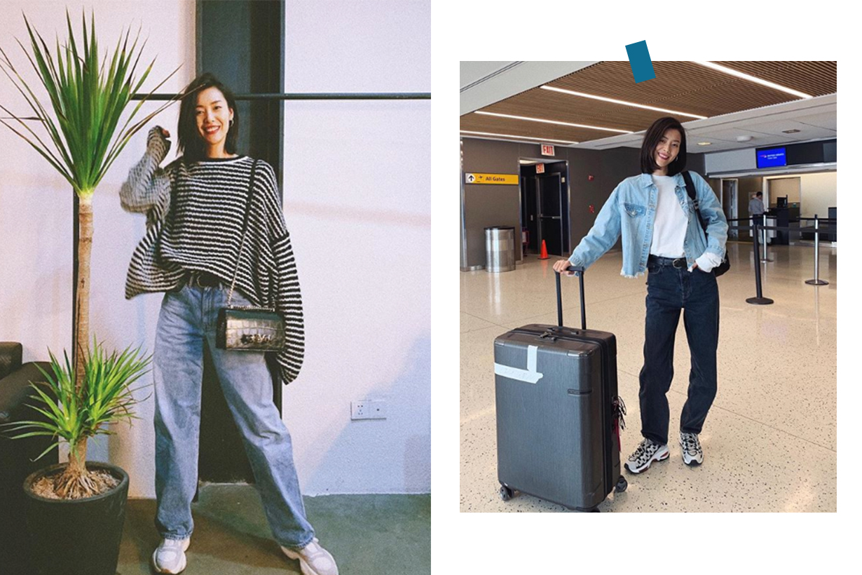 Liu Wen Street Style Instagram