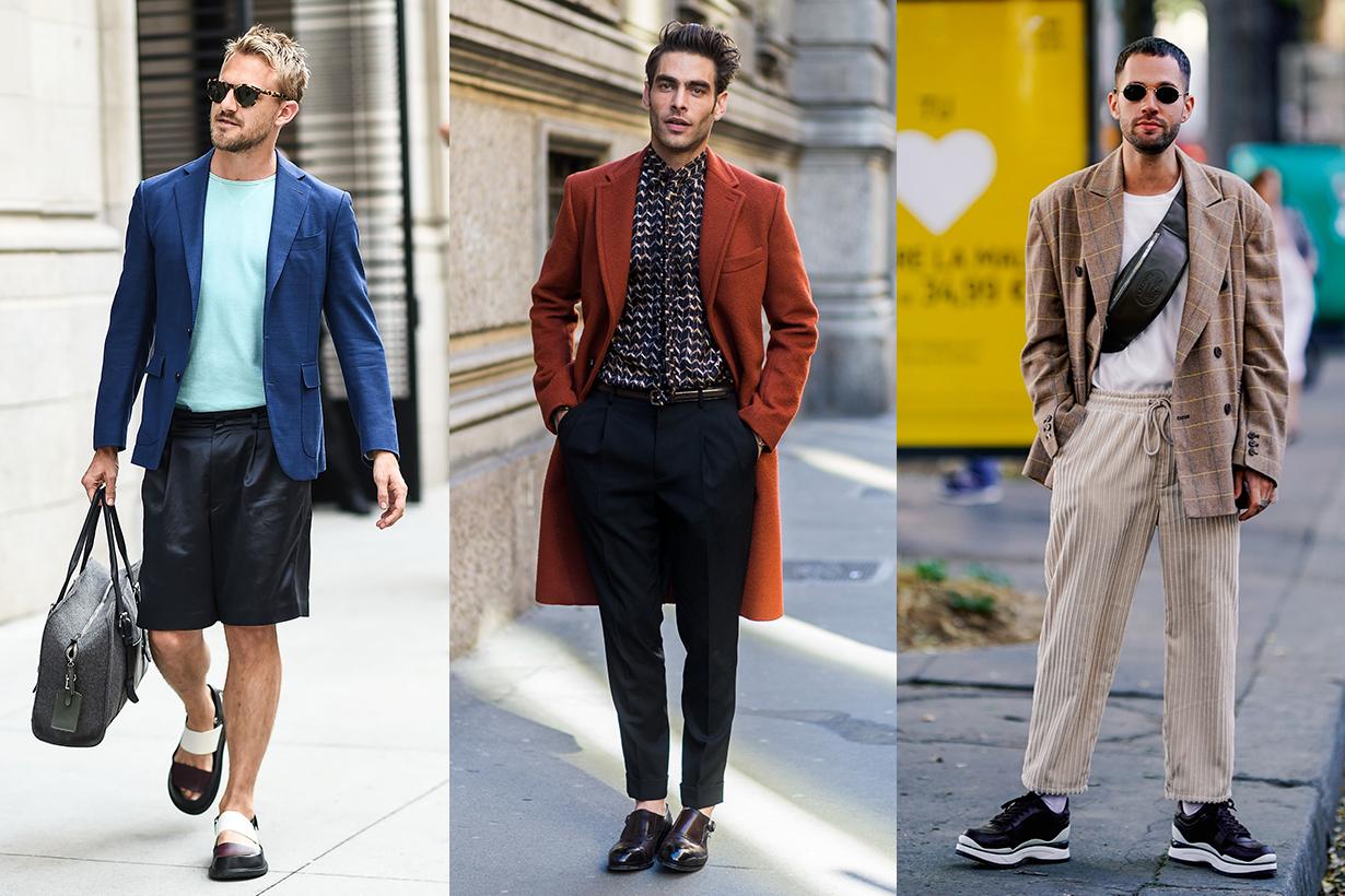 Men Fashion Week Street Style