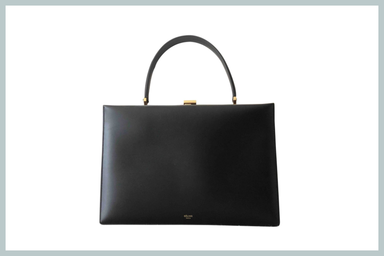 Céline Clasp Bag