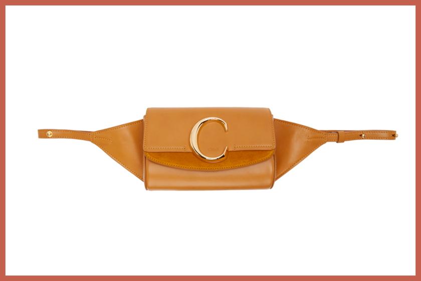 chloe belt bag c logo new ssense shopping it handbags