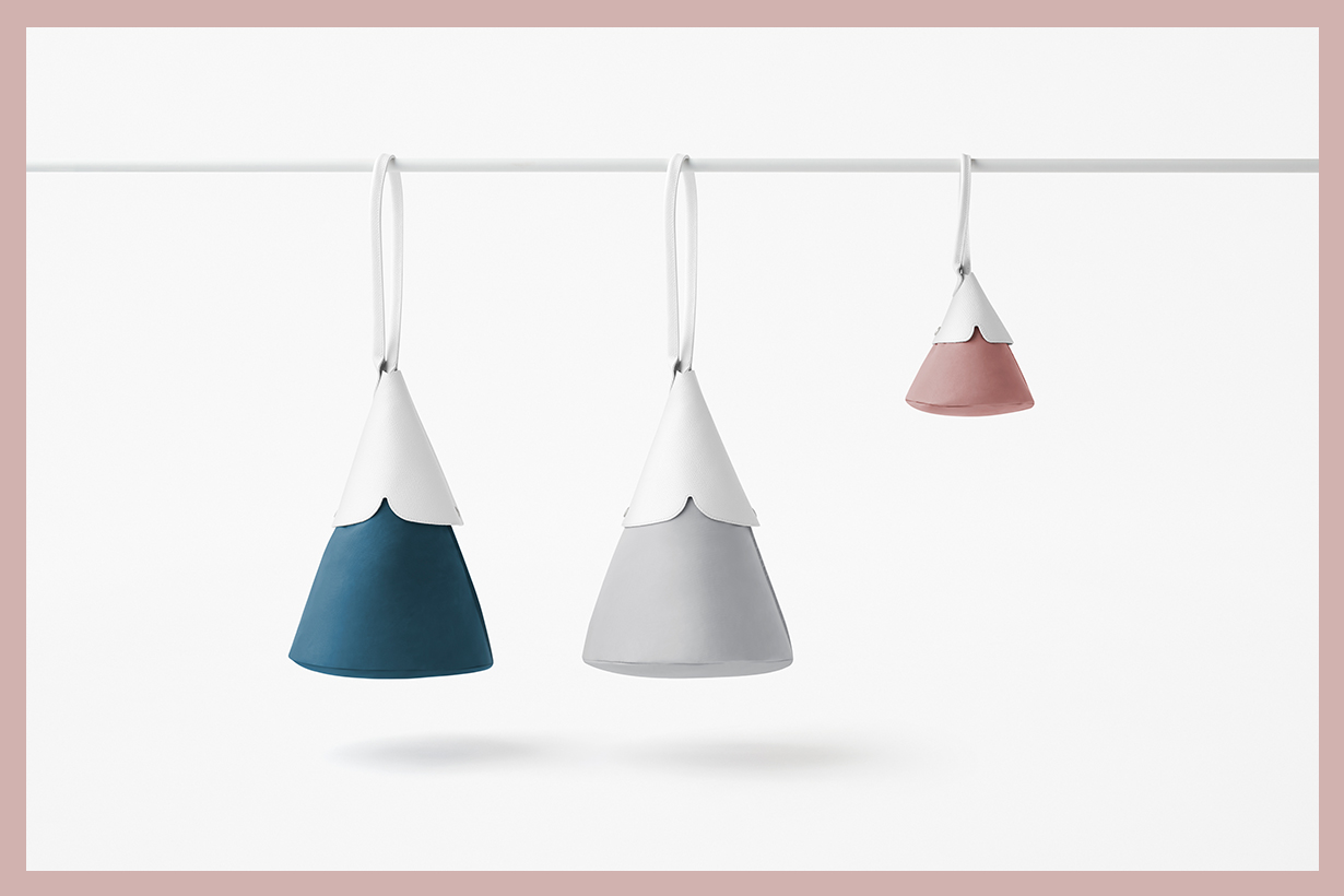 longchamp-nendo-Cone Top handle bag