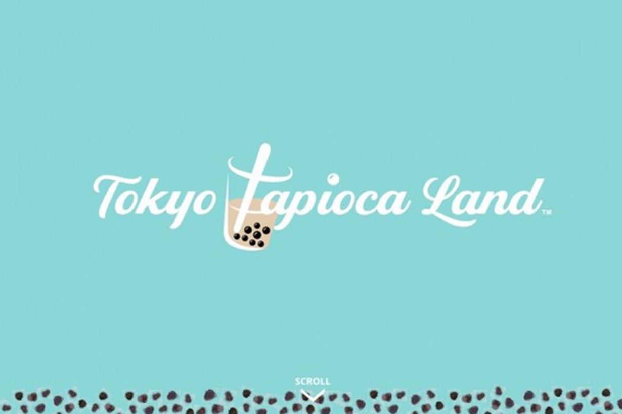 bubble tea boba theme park in Japan tokyo harajuku