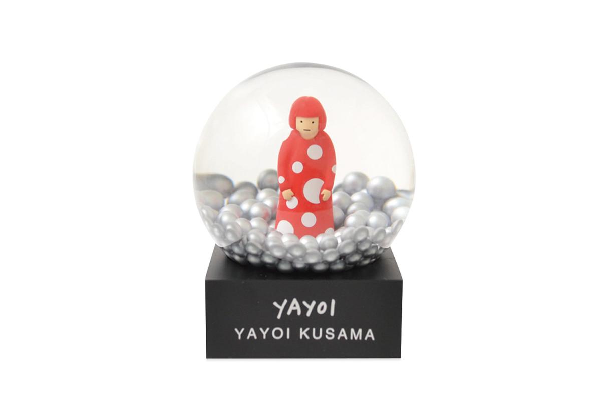 Yayoi Kusama snow dome moma design store