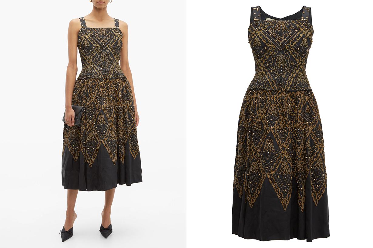 Dior 1955 Mexico Faille Gown