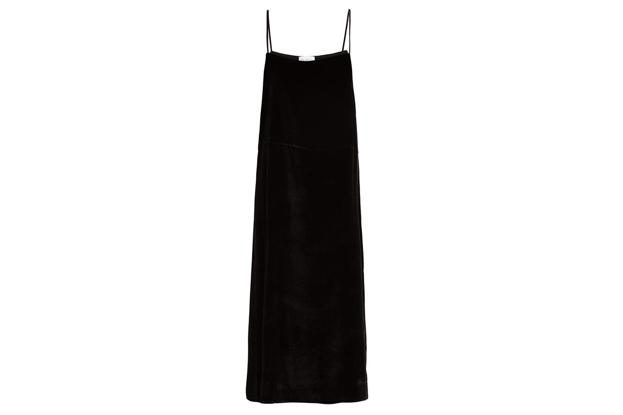 Raey Easy Velvet Slip Dress