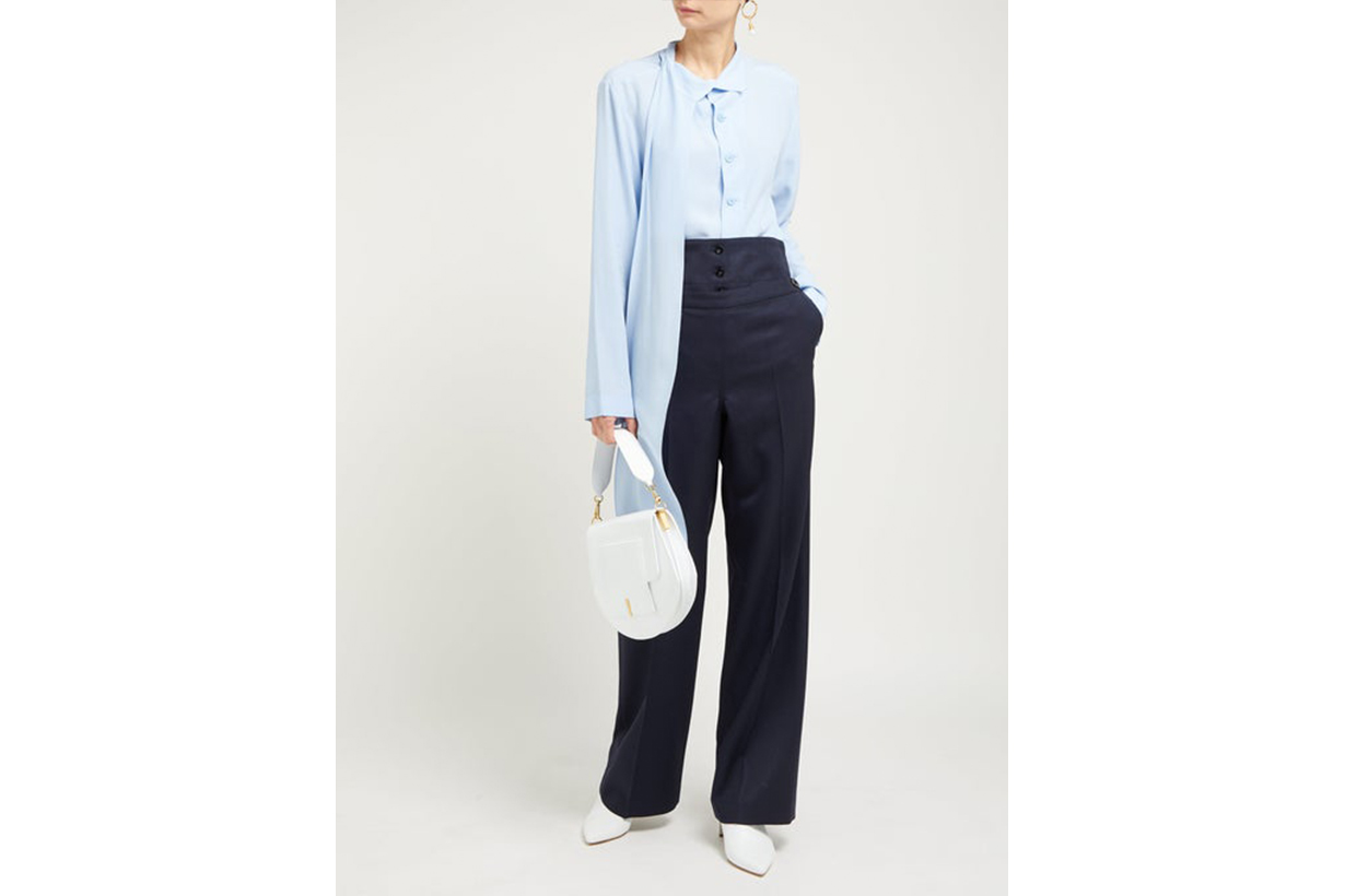 Greg Relaxed-Fit Wool Trousers