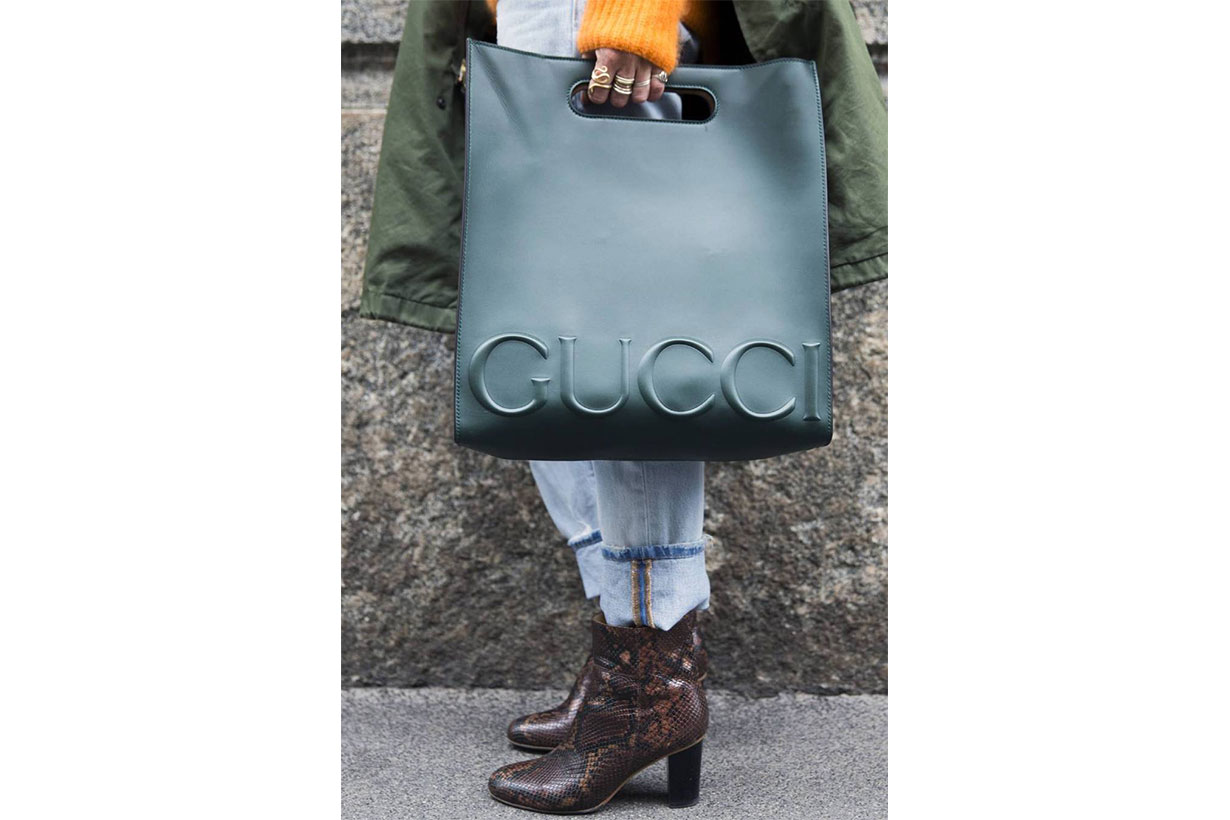 gucci shopper bag