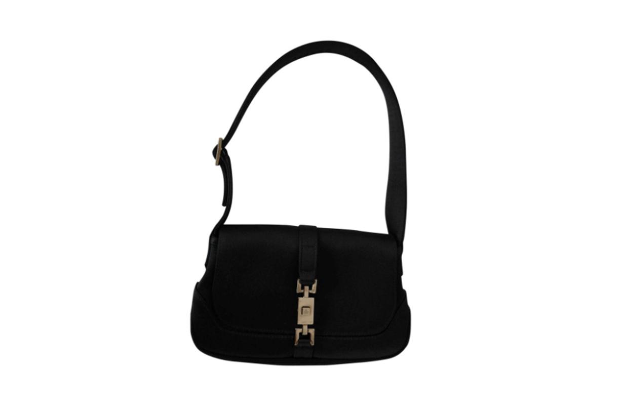 Gucci Silk Handbag