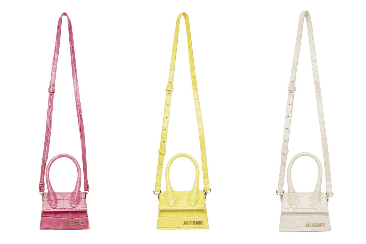 Jacquemus le chiquito new handbags color croc