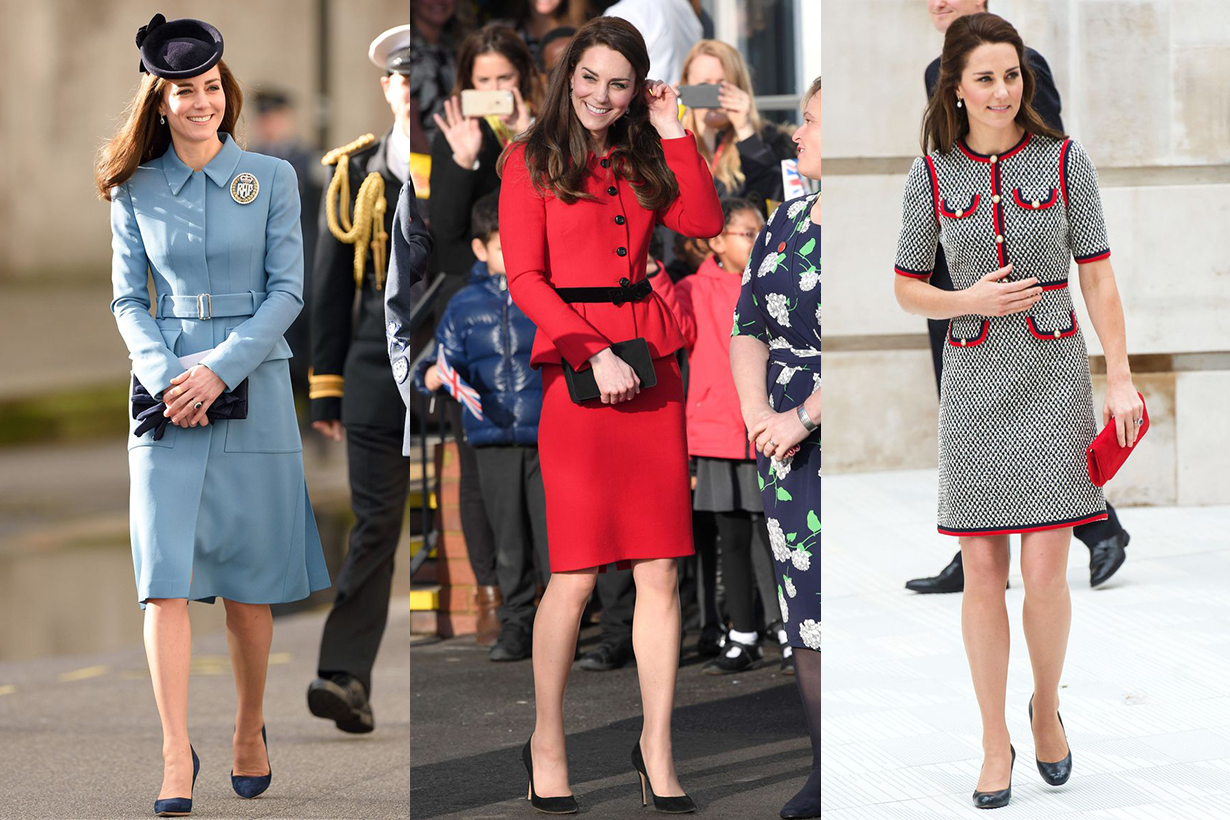 Kate Middleton Formal Dress Style