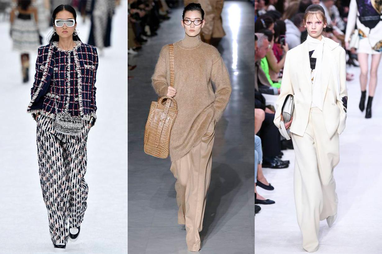 Loose Pants Trend Runway