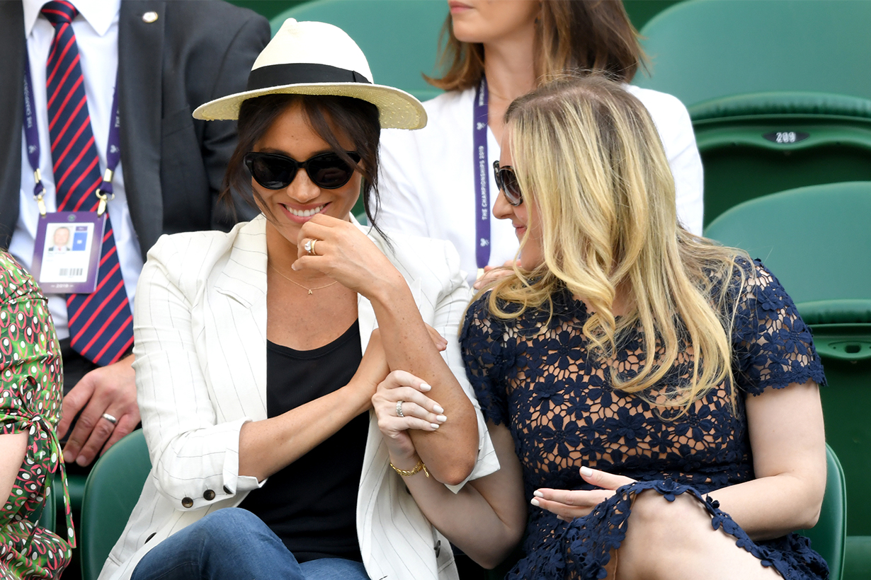 Meghan Markle's Wimbledon outfit