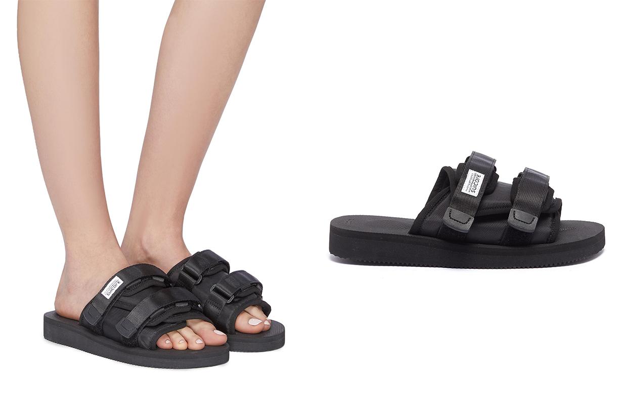 Moto Cab Strappy Band Slide Sandals