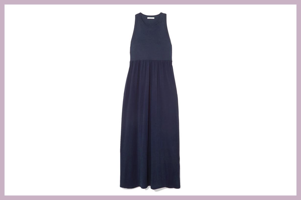 + NET SUSTAIN Organic Cotton Jersey Maxi Dress