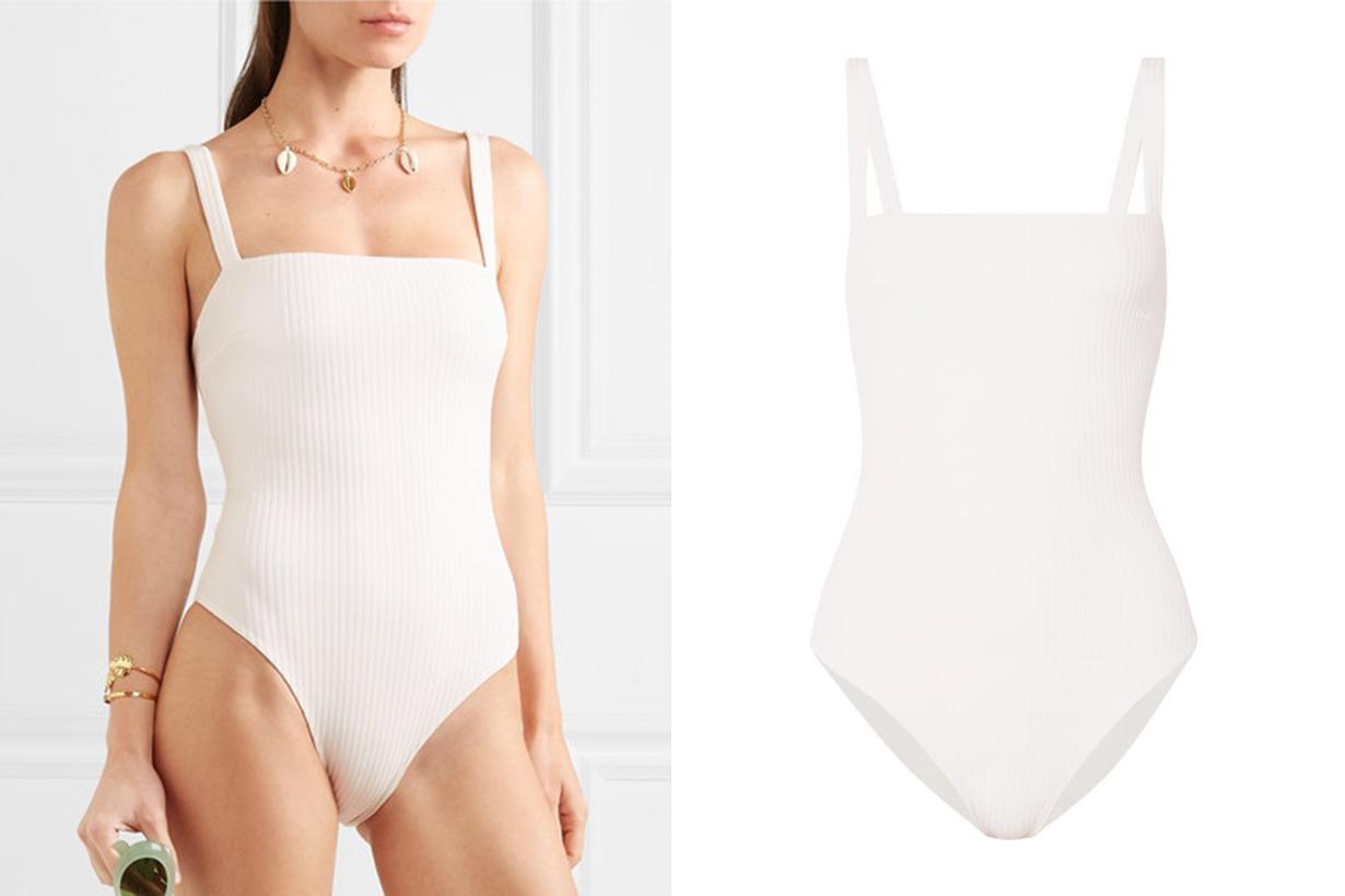 Phoebe Ribbed Swimsuit