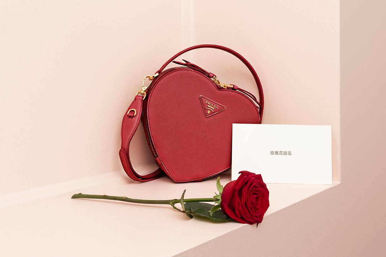 Prada Loving Gifts 2019-Prada Odette Heart Bag