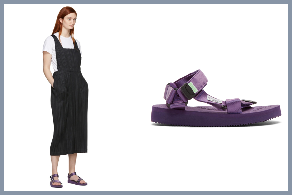 Purple DEPA-Cab Sandals