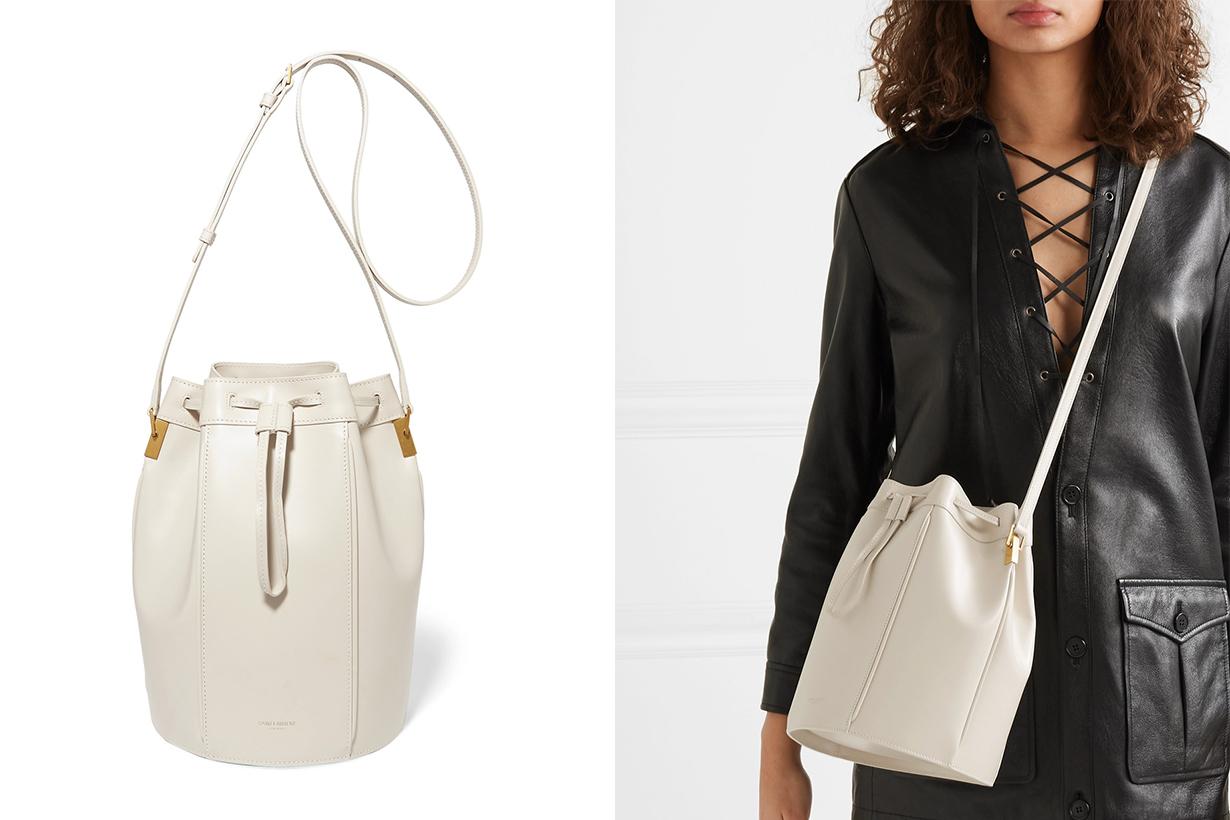 3 Saint Laurent White Bag On Sale
