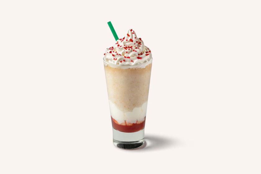 strawbetty donut Frappuccino starbucks limited uk where