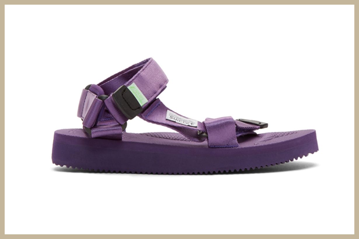 Suicoke Purple DEPA-Cab Sandals