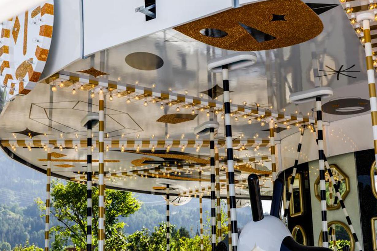 Swarovski Kristallwelten Crystal Carousel