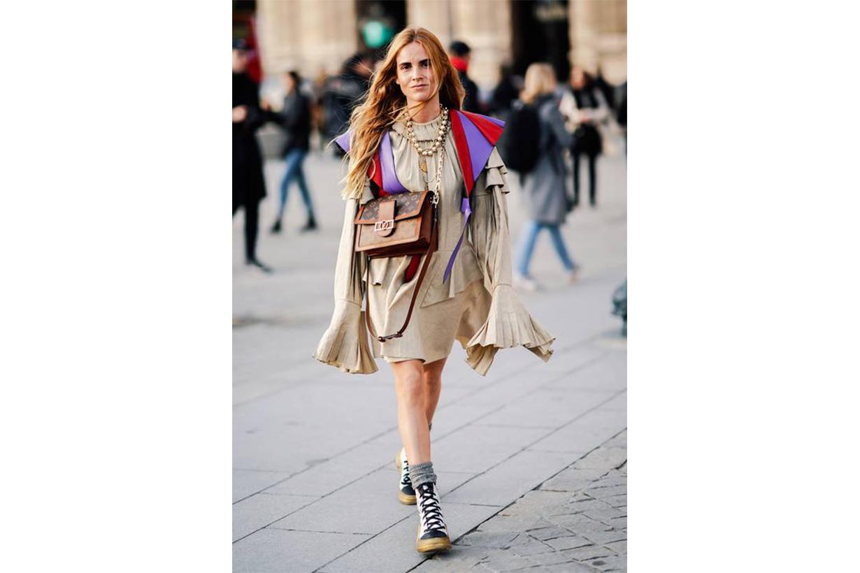 Louis Vuitton Dauphine Street Style