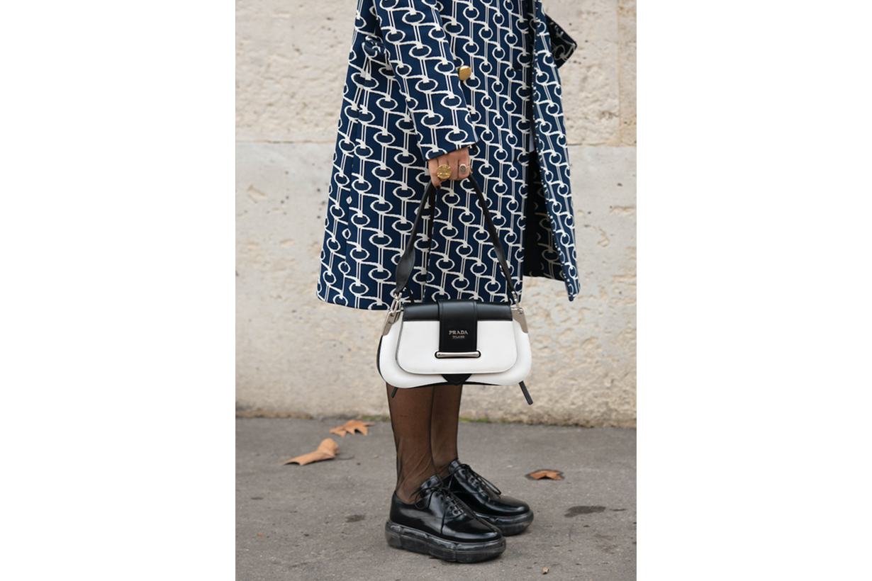 Prada Sisionie Bag Street Style