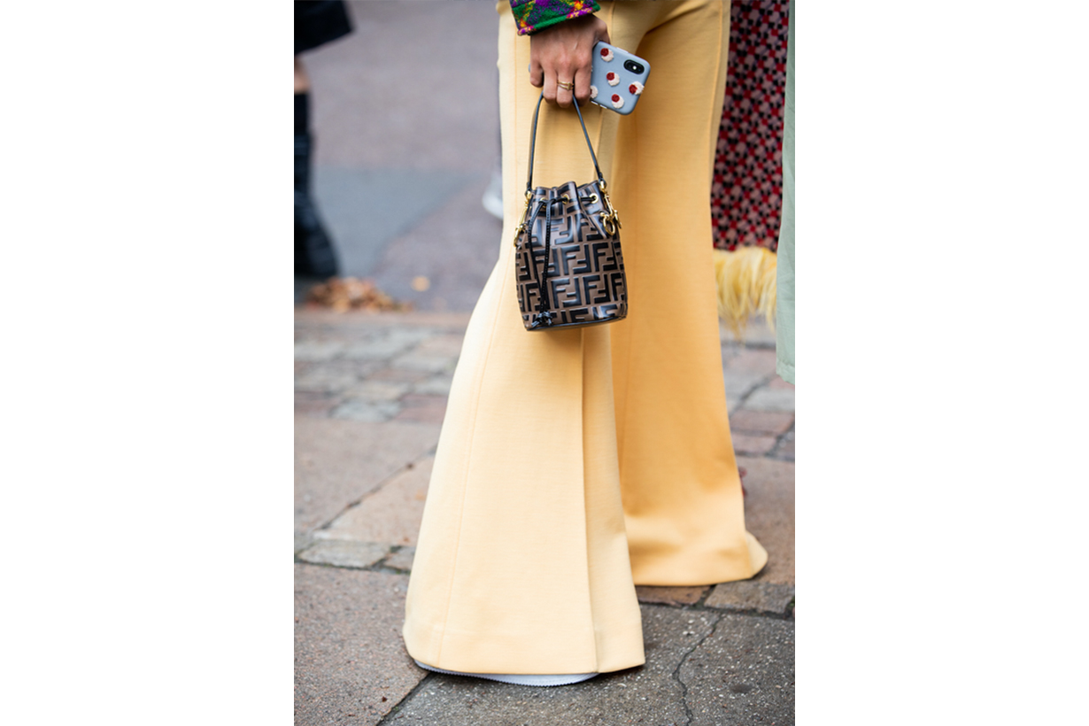 Fendi Mon Tresor Bag Street Style