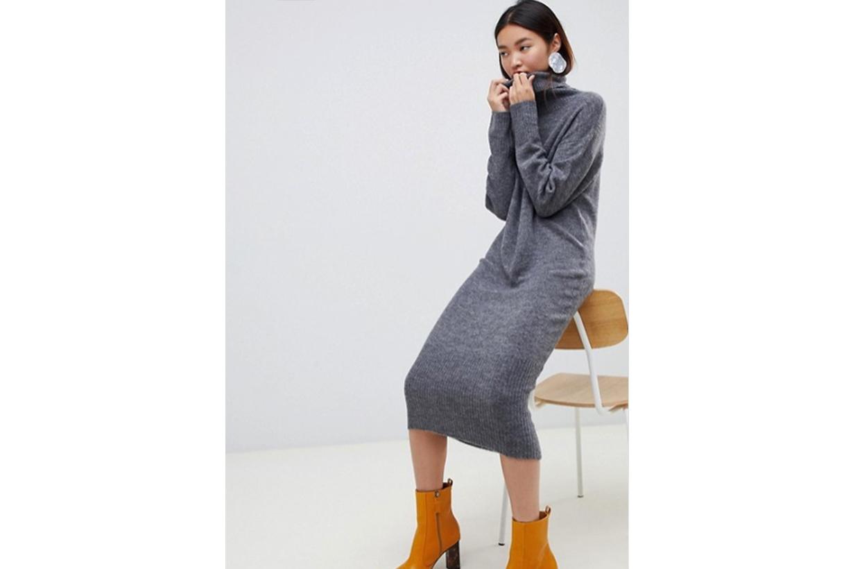ASOS DESIGN Midi Knit Dress