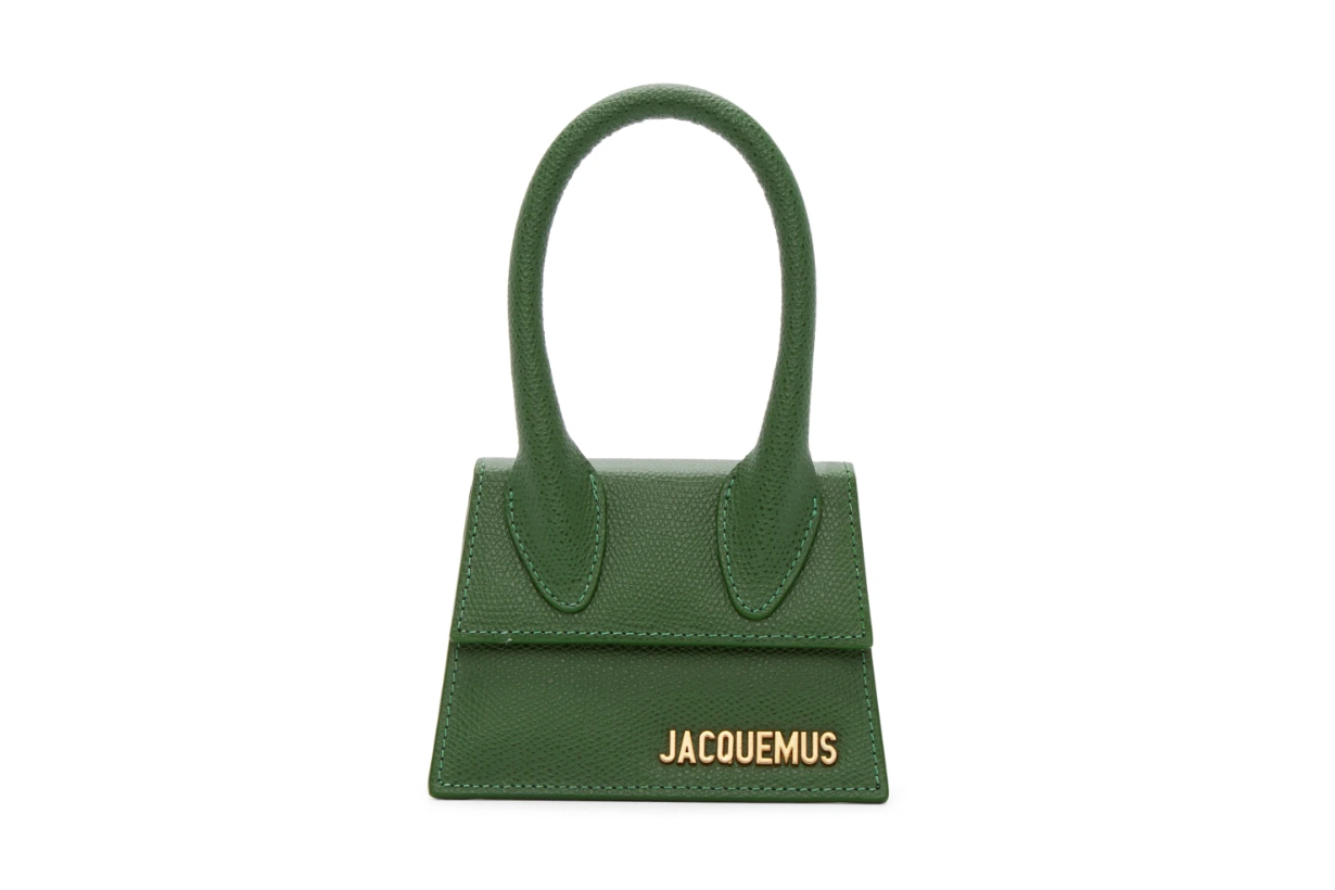 Jacquemus Green 'Le Chiquito' Clutch