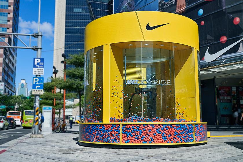 nike joyride taipei taiwan pop up store sneakers