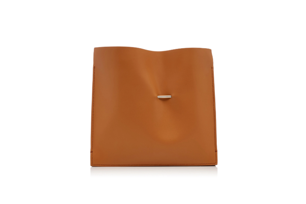 Khaore Cabinet Leather Clutch