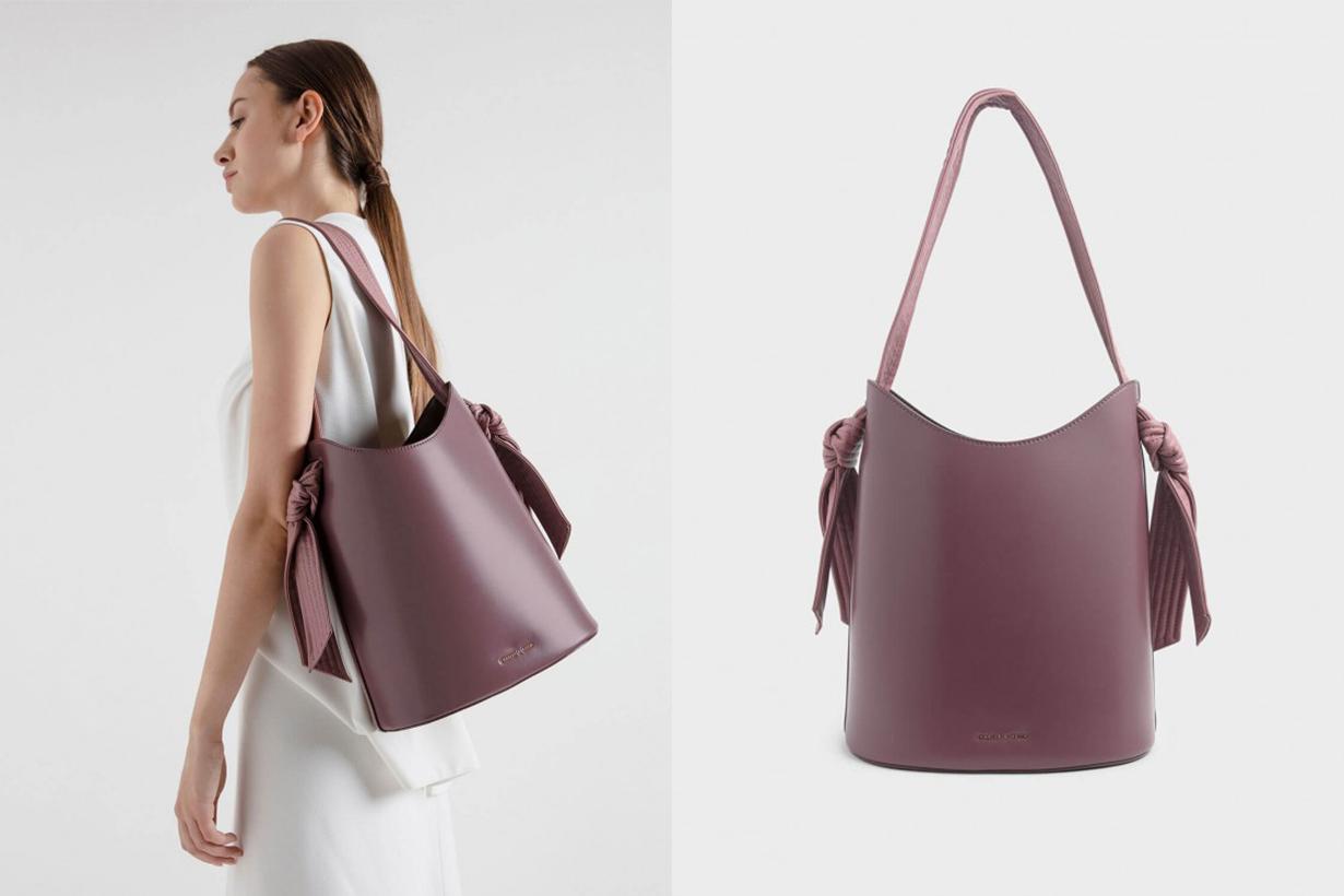 Knot Handle Bucket Bag
