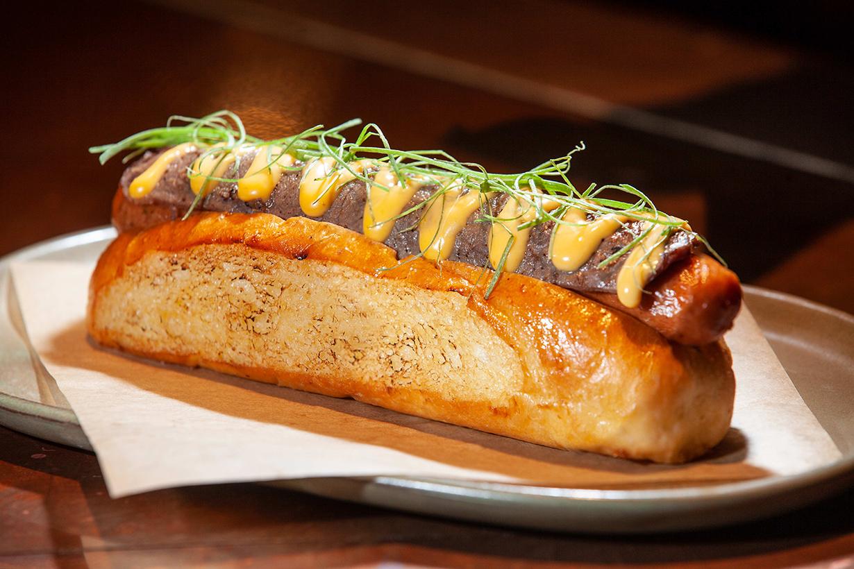 Best hotdog in THE LANDMARK MANDARIN ORIENTAL